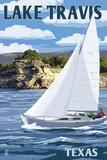 Austin  Texas - Lake Travis Sailing Scene