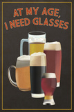 At My Age - Beer Glasses