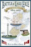 Put-In-Lake  Ohio - Battle of Lake Erie Nautical Chart