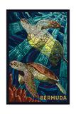 Bermuda - Sea Turtles Mosaic