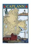Cape Ann  Massachusetts - Nautical Chart 2