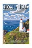 Heceta Head Lighthouse - Oregon Coast