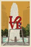 Philadelphia  Pennsylvania - Love Statue