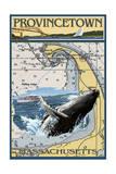 Provincetown  Massachusetts - Nautical Chart