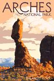Arches National Park  Utah - Balanced Rock