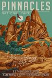 Pinnacles National Park - WPA Formations and Condor