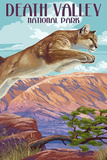 Cougar Scene - Death Valley National Park