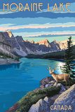 Banff  Alberta  Canada - Moraine Lake