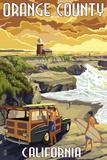 Orange County  California - Woody and Beach