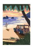 Woody and Beach - Maui  Hawaii