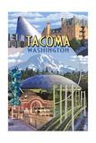 Tacoma  Washington - Montage Scenes