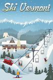 Vermont - Retro Ski Resort