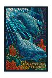 Hollywood  Florida - Dolphins Mosaic