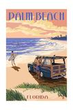 Palm Beach  Florida - Woody on the Beach