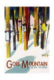 Gore Mountain  New York - Colorful Skis