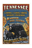 Tennessee - Black Bears Vintage Sign