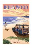 Hollywood  Florida - Woody on the Beach