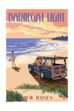 Barnegat Light  New Jersey - Woody on the Beach