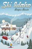 Bogus Basin  Idaho - Retro Ski Resort