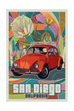 San Diego  California - VW Bug