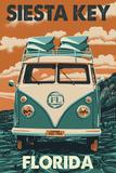 Siesta Key  Florida - VW Van