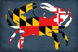 Maryland - Crab Flag - No Text