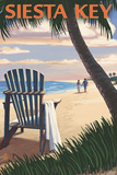 Siesta Key  Florida - Adirondack Chair on the Beach