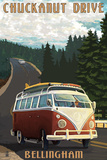 Chuckanut Drive - Bellingham  WA - VW Van