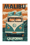 Malibu  California - VW Van