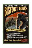 Bigfoot Tours - Vintage Sign