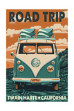 Twain Harte  California - VW Van