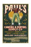 Paul Bunyan - Vintage Sign