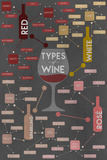 Types of Wine Infographic