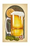 Beer Mug and Orange