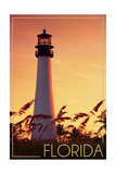 Florida - Lighthouse and Seagrass