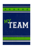 Monogram - Game Day - Blue and Green - My Team