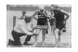 Short Swimsuits - Pewaukee Lake  Wisconsin - Vintage