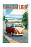 Barnegat Light  New Jersey - VW Van Coastal Drive