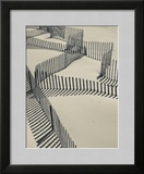 New York  Long Island  the Hamptons  Westhampton Beach  Beach Erosion Fence  USA