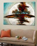 Lune des moissons Toile Murale Géante par Marie Claprood