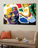 Madiba Toile Murale Géante par Ray Lengelé
