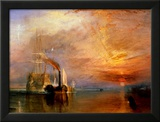 """The """"Fighting Temeraire"""" Tugged to Her Last Berth to be Broken Up  Before 1839"""
