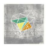 Geomolecule III Reproduction d'art par Jennifer Goldberger