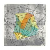 Geomolecule I Reproduction d'art par Jennifer Goldberger