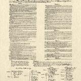 Constitution Document Reproduction d'art
