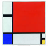 Composition with Red  Blue and Yellow  1930