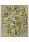 Composition in Brown and Gray (Gemälde no II : Composition no IX : Compositie 5)  1913