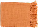 Tilda Throw - Burnt Orange *