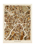 Moscow City Street Map