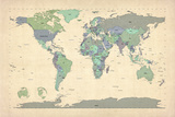 Political Map of the World Map
